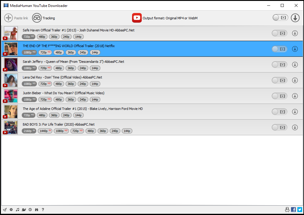 MediaHuman YouTube Downloader 3 9 9 28 with Patch | AbbasPC