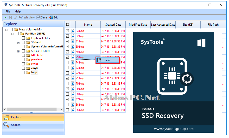 SysTools SSD Data Recovery crack Free Download Full Version